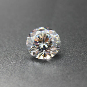 White-Zircon-1-42ct-6mm-Round-Faceted-Cut-Shape-AAAAA-VVS-Loose-Gemstone