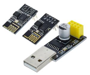USB ESP8266 zu Adapter seriell ESP01 Programmierer ESP-01S UART Arduino CH340G
