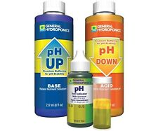 General Hydroponics Retail 8oz pH UP & DOWN Combo Kit W/ 1oz PH Dropper Tester