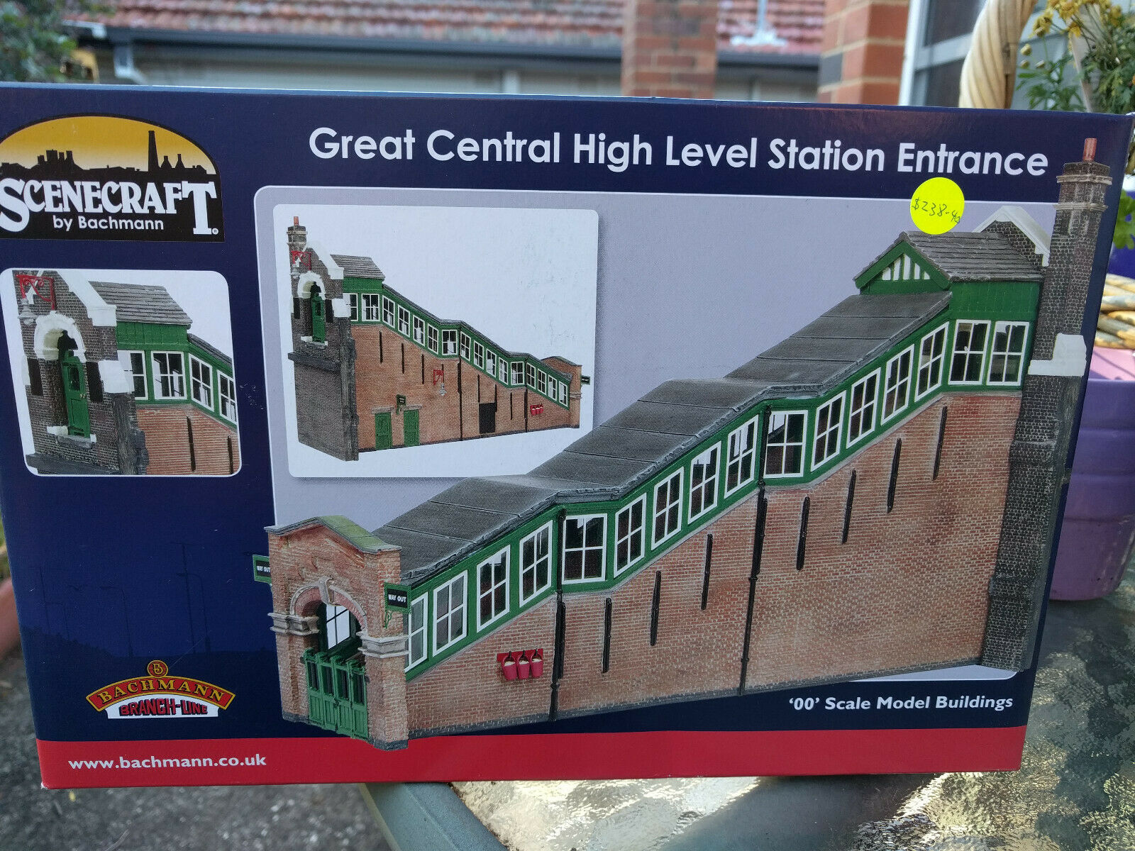 Bachuomon Scenecraft OO Great Central High Level Station Entrance ref 44119B