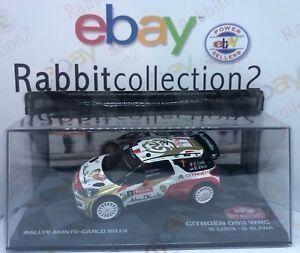 DIE-CAST-034-CITROEN-DS3-WRC-RALLYE-MONTECARLO-2013-034-SCALA-1-43