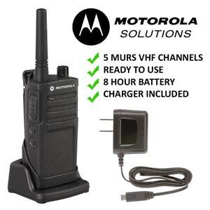 Motorola-RMM2050-License-Exempt-VHF-MURS-Farm-Ranch-Rodeo-Two-Way-Radio