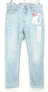 New-Signature-By-Levi-Mens-Modern-Straight-Slim-Stretch-Denim-Jeans-32-to-38