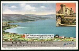Italy-Lake-Lago-Bracciano-History-c50-Y-O-Trade-Ad-Card