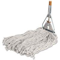 Genuine Joe Gjo-54201 54201 Cotton Wet Mop With Handle - 60 Width X 0.94 on Sale