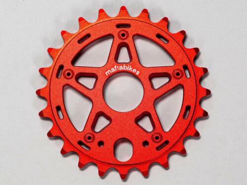 Mafia Bikes Gully Sprocket Red