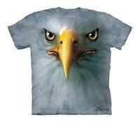 The Mountain Eagle Face Golden Bald Flying Birds Cute Fierce T Shirt Child S
