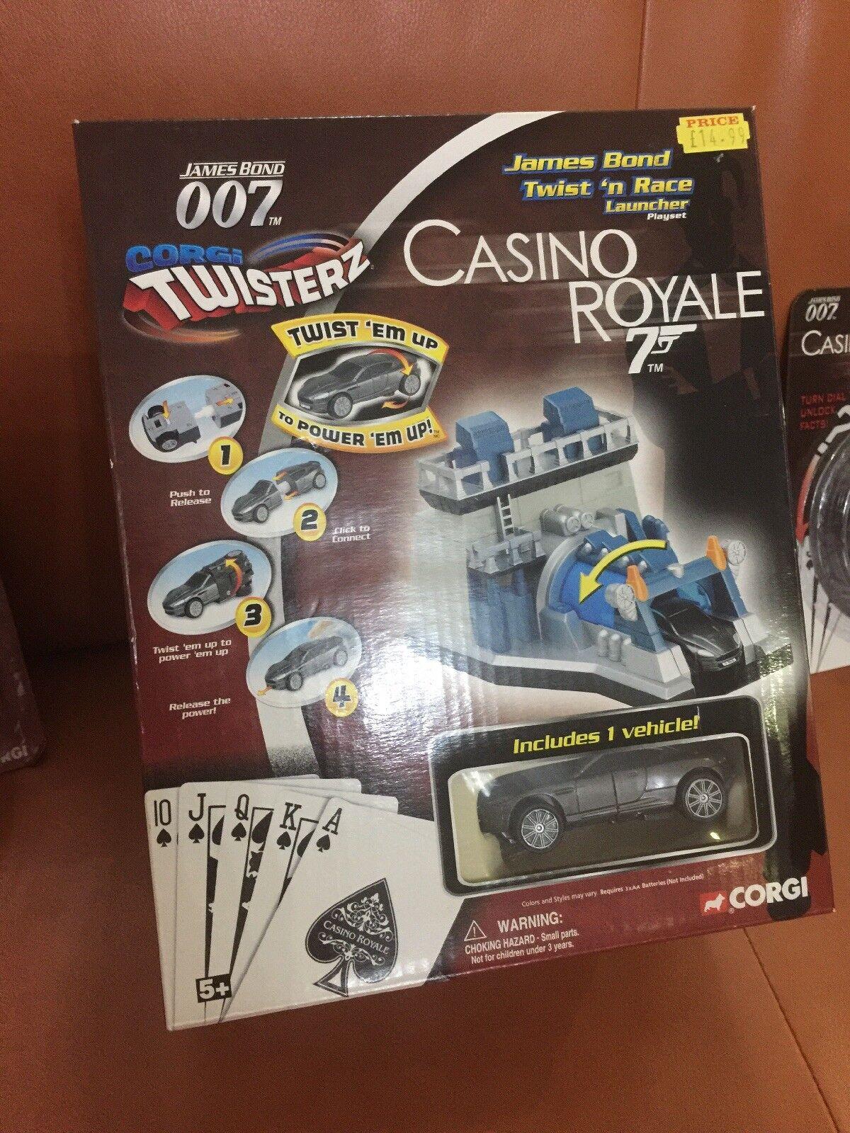 James Bond Twist and Race Ensemble lancement