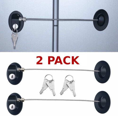 Fridge Lock For Double Door