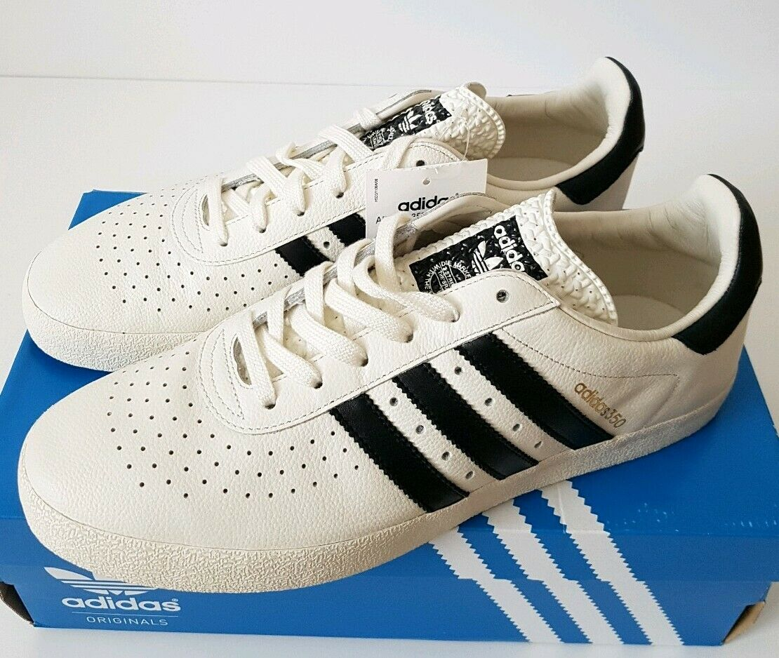Adidas 350 Spezial-Off Noir Blanc-UK 9.5 US 10 EUR 44-S74861-spzl
