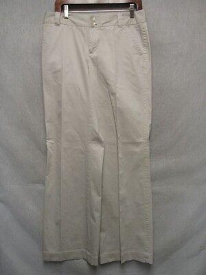 D2928 Eddie Bauer Blakely Passform Beige Stretch Hochwertig Hose Damen 32x31 FüR Schnellen Versand Kleidung & Accessoires
