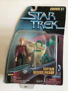 Vtg Captain Beverly Picard Asst#65100 St#65112 Star Trek Playmates 1997 NIB