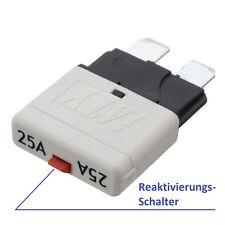 12V / 25A KFZ Sicherungsautomat Flachsicherung Sicherung für PKW LKW Boot usw.!