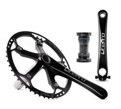 BB Chainring 45//47//53//56//58T Road Bike integrated Crankset crank arm 170 BCD130