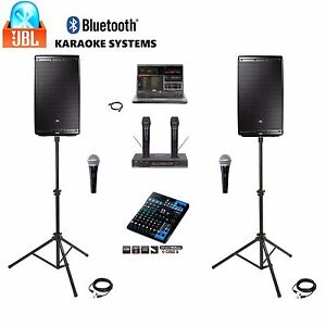 Details about BEST PROFESSIONAL JBL Karaoke System DJ Laptop Digital  MACHINE Karaoke System