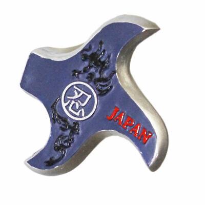 2Pcs Naruto Ninja Kunai Shuriken fridge Magnets throwing Dart stick Fridge