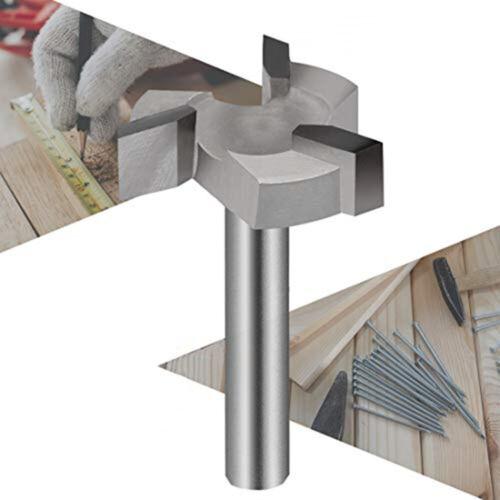 Silber Router-Bit Hartmetall Spoilboard Oberfläche Fräser Bohren Flush