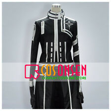 Cosonsen D Gray Man Allen Walker New Version Cosplay Costume Black White