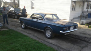 62 corvair  V-8 full frame project