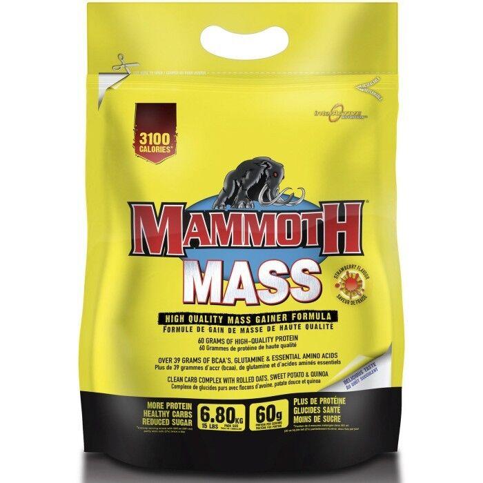 Interactive Nutrition Mammoth Mass 6.8kg Serious Mass Gainer
