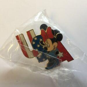 WDW-Cast-Lanyard-Series-Minnie-USA-Disney-Pin-13499