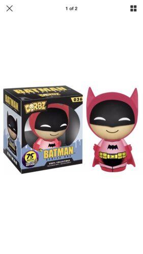 New /& Official DC Comics Dorbz 75th Anniversary Vinyl Figure Pink Batman