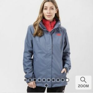 3in1 Jacket Ii Size North Women's About New Face Triclimate Details Small Genuine Evolve The cAjq3L54R