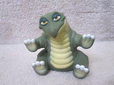 "Land Before Time 1988 Spike 4.5"" Green Dinosaur PVC Pizza Hut Figure EUC"