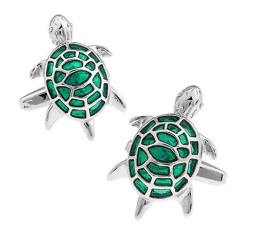 1 pair turtle cuff links,tortoise cufflinks,cute metal cufflinks