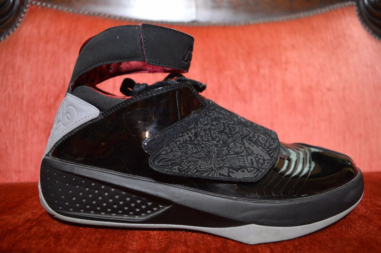CLEAN Nike Air Jordan 20 XX Stealth Black laser OG 2005 size 9 310455 001