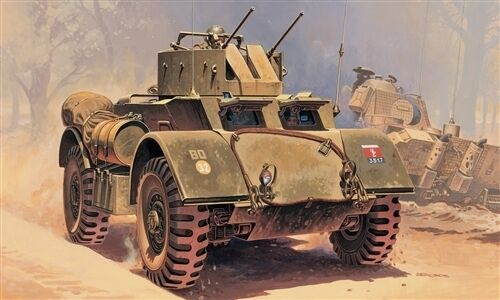 Italeri Model kit  35 WWII Great Britain T17E2 STAGHOUND AA