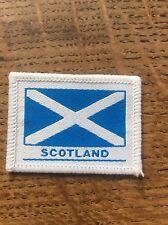 Vintage Cloth Patch Scout Badge Scottish Scotland Memorabilia