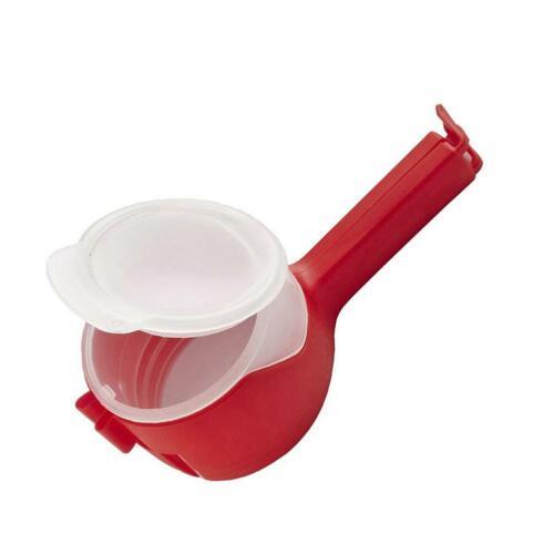 1pcs plastique Food Seal pour sac de rangement pinces Snack Sealing Clip Sealer Clamp