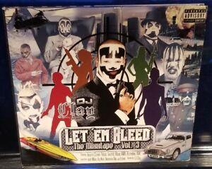 DJ-Clay-Let-039-Em-Bleed-vol-3-CD-insane-clown-posse-twiztid-tech-n9ne-abk-icp