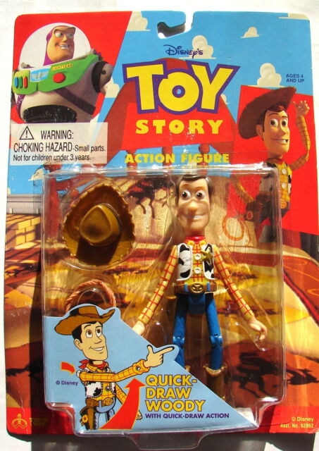 c6056d1d6 Disney Toy Story Quick Draw Woody Action Figure for sale online | eBay