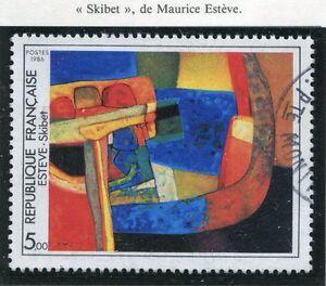 STAMP / TIMBRE FRANCE OBLITERE N° 2413 TABLEAU MAURICE ESTEVE