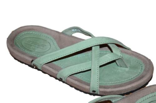 74a424aa07fd 5 of 12 Nwob Teva Ladies Downtown Ola Mosstone Green Waterproof Leather  Thong Sandals 7