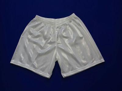 Entusiasta Footex 10 Pantaloncino Calcio Calcetto Misura L Colore Bianco Poliestere Jaquard