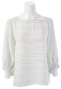ANN-TAYLOR-FACTORY-Square-Neck-Striped-Top