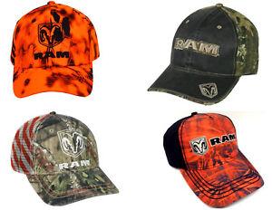 05f90a8dd94 Ram Dodge Cap Hemi Baseball Caps Hat Adjustable Camo Flash Flag ...