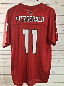 Image is loading Larry-Fitzgerald-11-Arizona-Cardinals-NFL-reebok-Jersey- ad3221f73