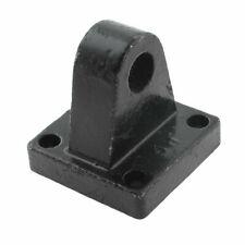45mm X 45mm Pneumatic Air Cylinder Rod Pivot Clevis Mounting Bracket Black
