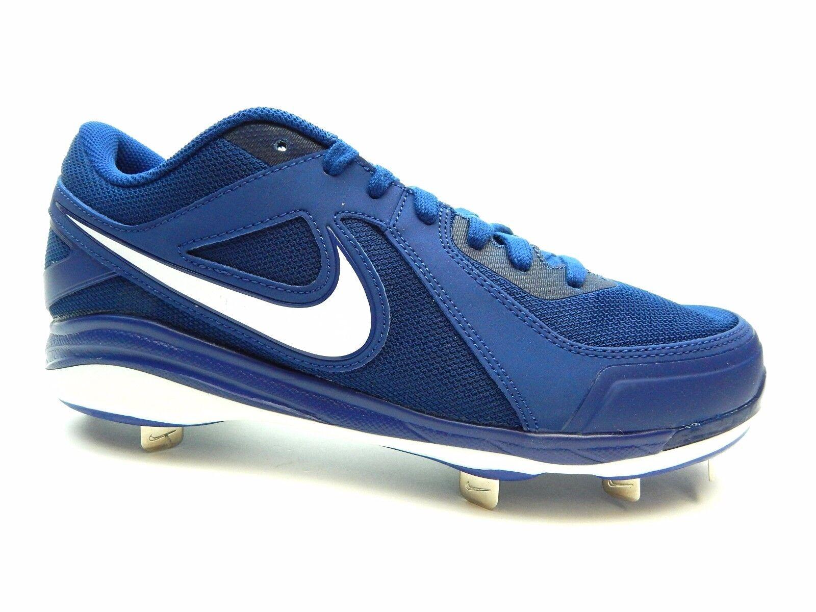 Nike Air MVP Pro Metal 524641 412 ROYAL WHITE MEN Baseball SIZE 10, 10.5 & 12 Great discount