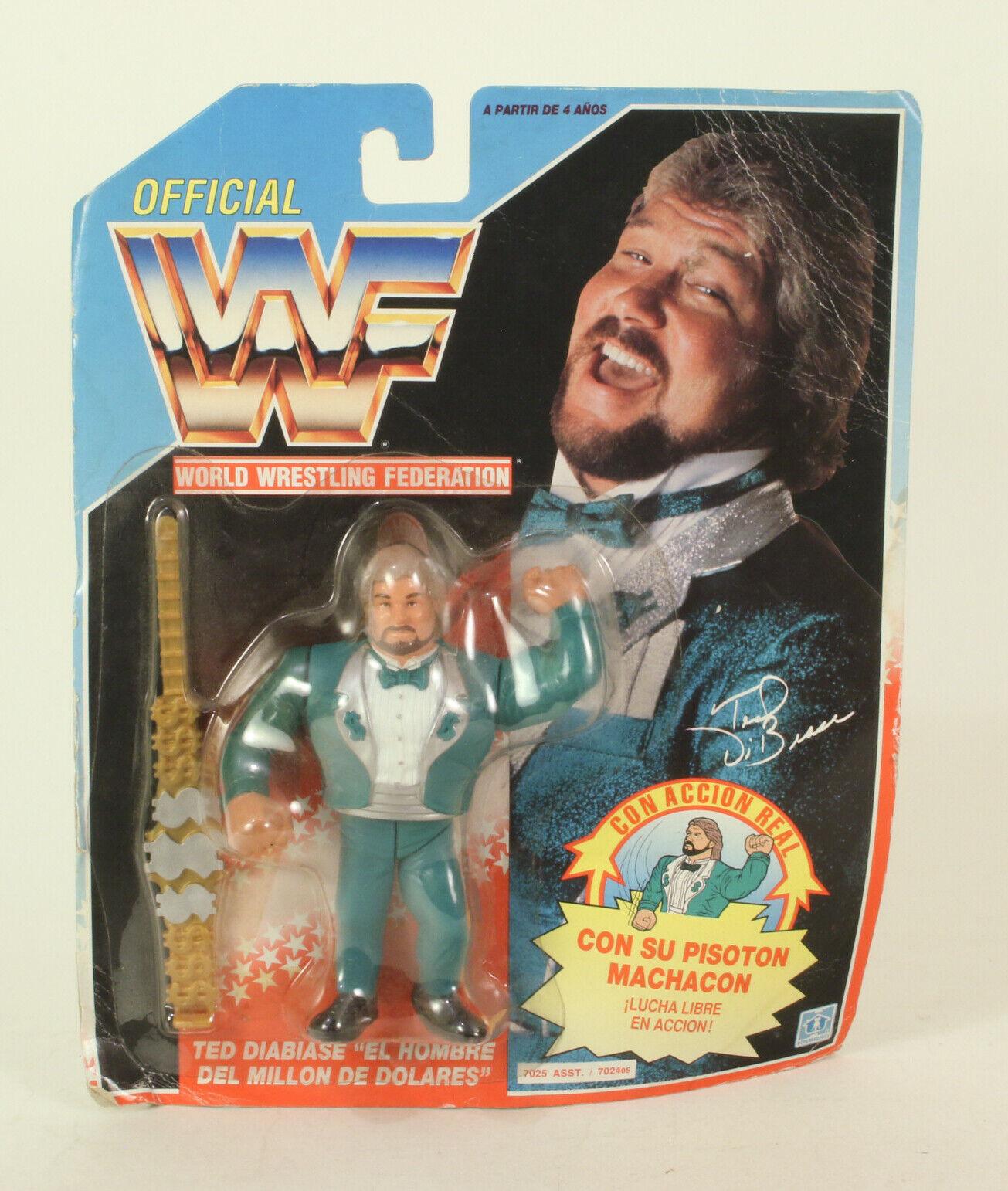WWFのテッドビビアーゼミリオンダラーマンブルーカード