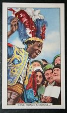 Tipster   Rass Prince Monolulu   Original 1930's Vintage Card  VGC