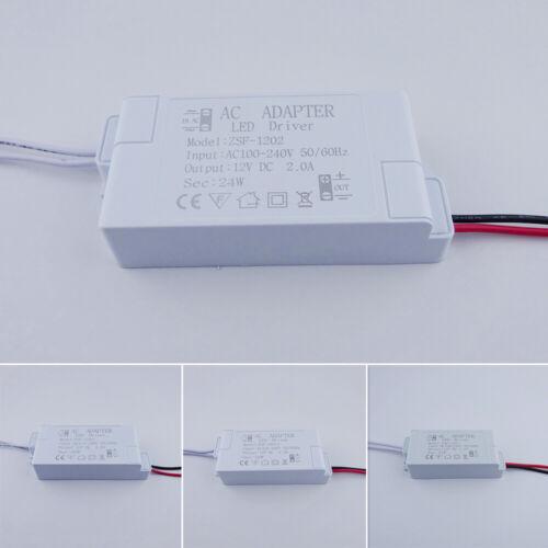 Adapter LED-Treiber Konstant DC12V Schalter Gehäuse Licht Netzteil AC100V-240V
