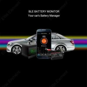 12V-Bluetooth-Battery-Manager-Auto-RV-Car-Motor-Voltage-Cranking-Charging-Tester