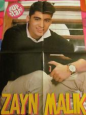 Zayn Malik, One Direction, Louis Tomlinson, Double Four Page Foldout Poster