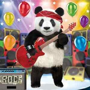 3D Olografico Biglietto Di Auguri Compleanno Divertente Panda