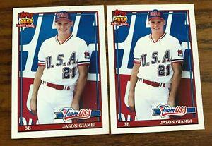 1991-Topps-Traded-45-JASON-GIAMBI-RC-USA
